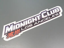 $$$$$$ MIDNIGHT CLUB LA STICKER $$$$$$ ROCKSTAR GAMES $$$$$$