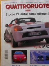 Quattroruote 535 2000 Alfa 147 - Toyota MR2 - Sfida Punto vs Yaris    [Q47]