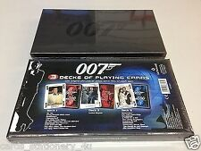 James Bond Playing Card Limited Bond 007 Daniel Craig Sean Connery Roger Moore