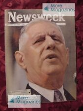 NEWSWEEK January 28 1963 Jan 1/28/63 CHARLES DE GAULLE GEORGE SZELL +++