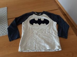 NEXT Langarmshirt mit Batman Motiv Gr. 104