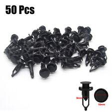 50pcs Push-Type Bumper Retainer Car Auto Plastic Clips Fastener For Toyota Lexus