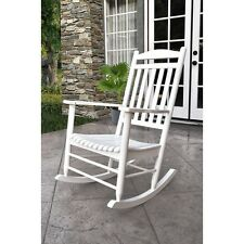 Shine Company Maine Porch Rocker - White - 4331WT NEW