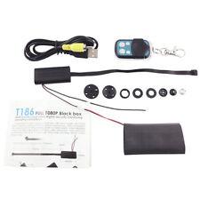 Negro Mini botón oculto cámara espía DVR Videocámara Detective Video Grabadora