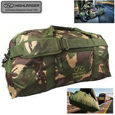 Highlander 65 Litre Camo Cargo Holdall Bag - Mens Luggage Hiking Travel Camping