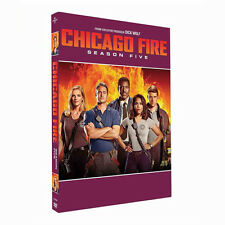 Chicago Fire Complete Season 5 DVD Boxset New & Sealed UK Compatible