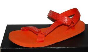Aldo Moesen  Orange Men's Casual Flip Flops Sandal Shoes Size US 11 M EU 44 NEW