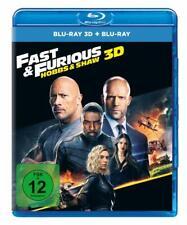 Fast & Furious: Hobbs & Shaw Blu-Ray 2D/3D - Jason Statham Dwayne Johnson