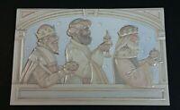 """Three Kings embossed 10 Christmas Cards 8 1/4"""" x 5 3/8"""" by American Greetings Op"""