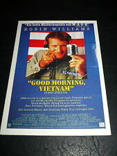 GOOD MORNING, VIETNAM, film card [Robin Williams, Forest Whitaker]
