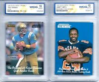 EMMITT SMITH & TROY AIKMAN COLLEGE/HIGH SCHOOL PROMO ROOKIE CARDS! WCG GEMMT 10!