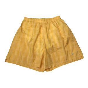 Nike Swim Shorts Boys Yellow Size: Large 12 - 14 Activewear Summer Shorts