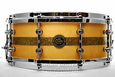 Gretsch Limited Edition Gold Series Maple Snare Drum 14x5.5 Natural Gloss - Blow