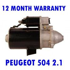 PEUGEOT 504 2.1 2.3 1971 1972 1973 1974 1975 1976 - 1986 RMFD STARTER MOTOR