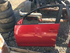 06-10 OEM VW Volkswagen Jetta MK5 Front Left Driver Side Door SALSA RED(LA3H)
