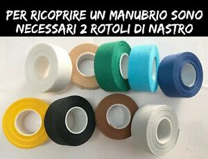 NASTRO MANUBRIO PLASTIFICATO TRAFORATO MARRONE BICI CORSA VINTAGE E FIXED