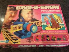 Vintage Give-a-show Projector Featuring Scooby Doo~Complete~Works~1974 Kenner