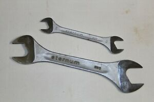 ETERNUM 522 OPEN ENDED SPANNER WRENCH LOT 2pcs