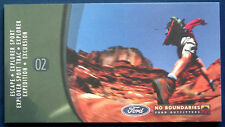 Prospekt brochure 2002 Ford SUV Explorer * Expedition * Excursion (USA)