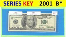 "== Series Key == 2001  "" B ""  star  $100.00 =  CB00195646*"