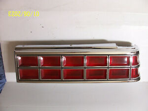 1984 1085 1986 Pontiac Parisienne Bonneville Right Taillight Tail Light USED OEM