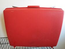 Vintage Samsonite Saturn II Suitcase Luggage Red Hard Side Large