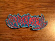 SEPULTURA,SEW ON RED AND BLUE EMBROIDERED PATCH