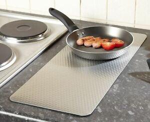 Heat Resistant metallic Kitchen Trivet Mat Pan Hot Pot Holder Non Slip Grey
