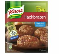 12 x KNORR FIX HACKBRATEN SPICE FOR MEAT GERMAN COOKING  ORIGINAL FROM GERMANY