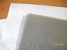 10 Feuilles Film Polycarbonate Transparent Clair 20/100 A4 200 x 300 Plexiglas