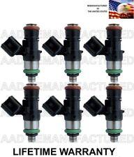 Set Of 6 OEM Bosch Fuel Injectors For Ford Mercury Mazda 3.0L Escape Fusion V6