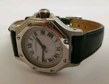 Cartier Santos Octagon Ladies stainless steel watch automatic