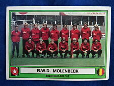 AUTO-COLLANT PANINI - EURO FOOTBALL 78 - R.W.D. MOLENBEEK - TOP