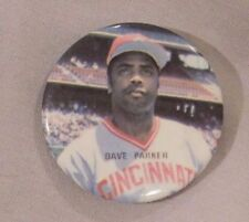 Dave Parker Reds Pin 1980s