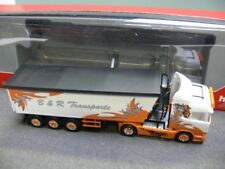 1/87 Herpa scania R hl b&r transportes/Arrow Hunter stöffelliner-SZ 306287