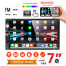 "7"""" HD 2DIN Car Radio Stereo Touch Screen  Bluetooth FM Player MP5 USB TF AUX IN"