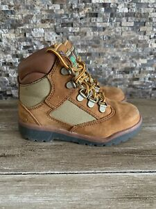 Timberland Field Boot 6-inch Toddlers Size 10 Style  44896  A83 5