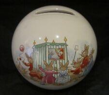 Royal Doulton Bunnykins Money Ball - Rare 'Punch & Judy' Design