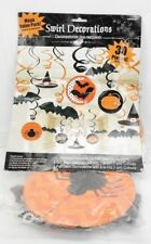 Modern | Witches And Bats | Halloween Swirl Decoration T2