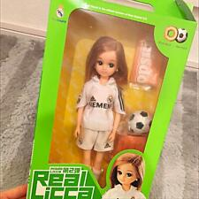 Rika-chan Doll Real Madrid Limited Mister Donut 35 Memorial rare From Japan