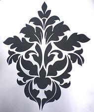 high detail airbrush stencil damask twelve pattern FREE UK POSTAGE