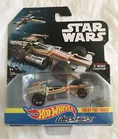 2016 HOT WHEELS STAR WARS ROGUE ONE CARSHIPS X-WING FIGHTER DIECAST (J)