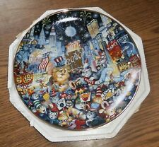 """8"""" Decorative Collector Plate """"New Millennium"""" - with styro packaging"""
