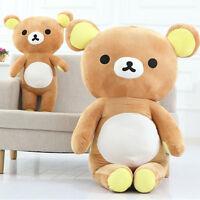 San-X Rilakkuma Relax Bear Soft 35Cm /13'' Pillow Plush Dolls Toy 100% Pp Cotton