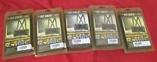 BACK SUPPORT BELTS - LOT OF 5 BELTS - ELASTIC - NEW IN BOX