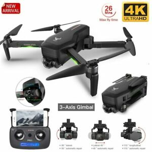 Professional GPS Drone WIFI FP VGimbal 4K HD Camera RC Foldable Quadcopter Gift