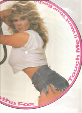 "SAMANTHA FOX ""Touch Me (I Want Your Body)"" 1986 Jive Picture Vinyl 12"""