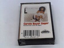 Carole Bayer Sager Sometimes Late at Night Cassette - SEALED