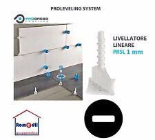 Livellatori Pavimento Piastrelle Proleveling Sistem 100 PZ LINEARE PRSL 1 2 3