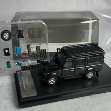 1/64 Master Land Rover Defender 110 Glossy Black